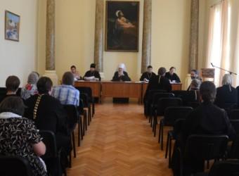Настоятель храма принял участие в работе Общего собрания профессорско-преподавательской корпорации Калужской духовной семинарии