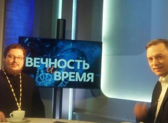 Проректор Калужской духовной семинарии выступил на телеканале «СПАС»