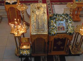 В храме в честь бессребреников Космы и Дамиана молитвенно отметили престольный праздник