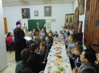 Праздник Масленицы в воскресной школе храма святых бессребреников Космы и Дамиана