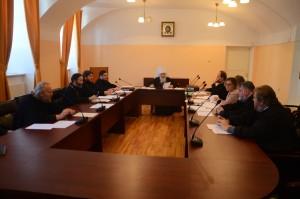 Настоятель храма принял участие в заседании Ученого совета Калужской духовной семинарии