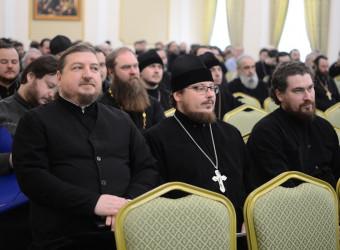 Настоятель храма принял участие в очередном пастырском семинаре