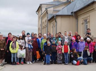 Воспитанники Воскресной школы посетили Свято-Казанский Колюпановский монастырь