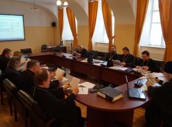 Настоятель храма принял участие в очередном заседании Ученого совета семинарии