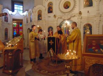 Неделя 28-ая по Пятидесятнице. Великомученицы Варвары