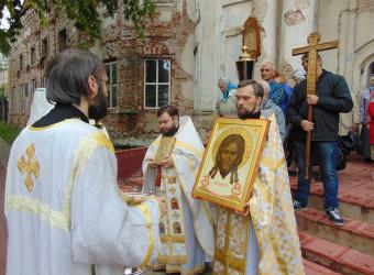 В храме отметили главный Престольный праздник