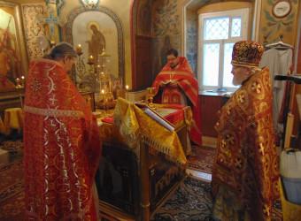 Настоятель храма принял участие в торжествах по случаю Престольного праздника великомученицы Параскевы Пятницы