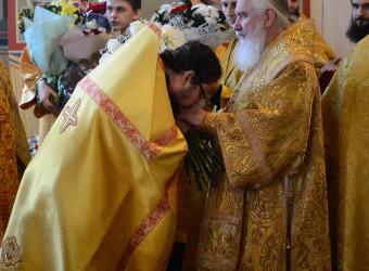 Настоятель храма поздравил митрополита Калужского и Боровского Климента с Днем тезоименитства