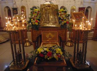 В храме торжественно отметили Престольный праздник