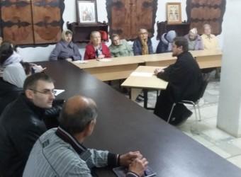 В храме бессребреников Космы и Дамиана в г. Калуге прошло первое занятие школы для взрослых «Субботние беседы»
