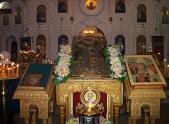 Неделя 27-я по Пятидесятнице, святых праотец. Свт. Спиридона Тримифунтского