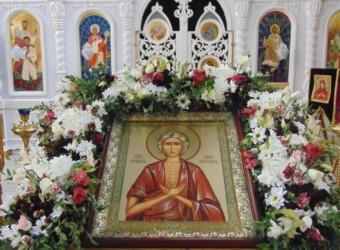 Стояние Марии Египетской, или Мариино стояние в храме Космы и Дамиана