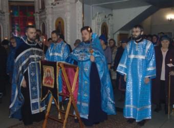 Седмица 5-я Великого поста. Похвала Пресвятой Богородицы (СубботаАкафиста)