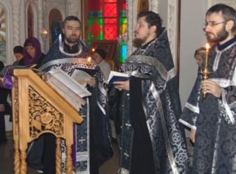 Во вторую неделю Великого поста в храме Космы и Дамиана была совершена первая в этом году Пассия
