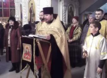 Настоятель храма святых бессребреников Космы и Дамиана совершил Молебен на Новолетие