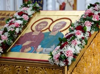 Престольный праздник храма святых бессребреников Космы и Дамиана
