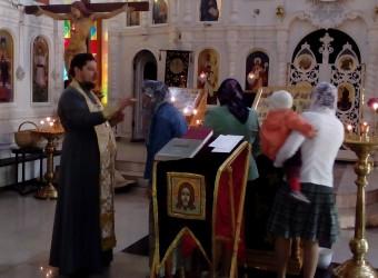 Настоятель храма совершил молебное пение в день памяти святого праведного Иоанна Кронштадского