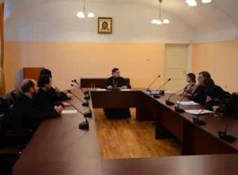 Настоятель храма возглавил заседание рабочей группы по подготовке Калужской духовной семинарии к прохождению процедуры государственной аккредитации образовательной деятельности