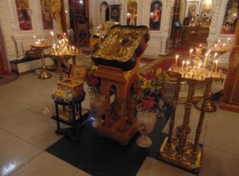 Святителя Николая, архиепископа Мир Ликийских – престольное торжество храма