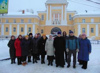 Духовенство и прихожане храма совершили паломническую поездку в Свято-Троицкую Сергиеву лавру