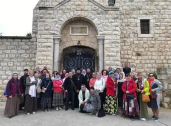Настоятель и прихожане храма совершили паломничество во Святую Землю