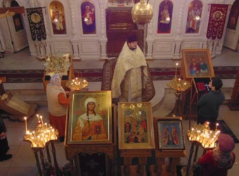 Неделя 35-я по Пятидесятнице, отдание Крещения Господня, святой равноапостольной Нины, просветительницы Грузии