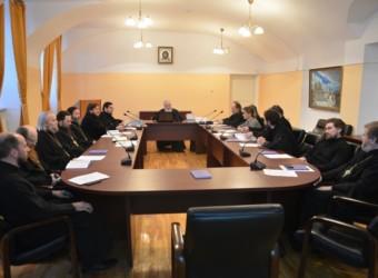Настоятель храма принял участие в очередном заседании Ученого совета Калужской духовной семинарии