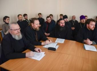 Духовенство храма приняло участие в собрании пятого благочиния Калужской епархии