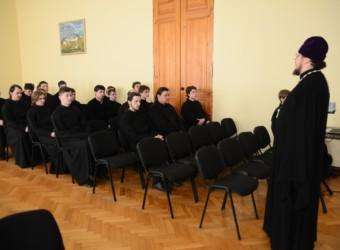 Настоятель храма принял участие в организации и проведении мероприятия для студентов Калужской семинарии в рамках Дня православной книги