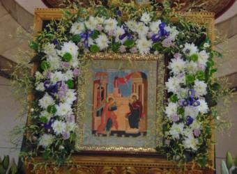 Неделя 4-я Великого поста, прп. Иоанна Лествичника. Благовещение Пресвятой Владычицы нашей Богородицы и Приснодевы Марии