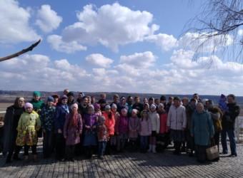 Воскресная школа храма совершила паломническую поездку в Спасо-Воротынский монастырь