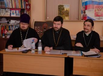 Настоятель храма принял участие в научно-практической конференции в Калужской православной гимназии