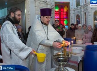 В храме святых бессребреников Космы и Дамиана совершили чин Великого освящения воды