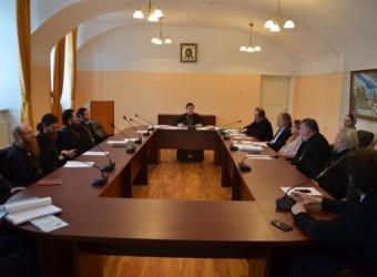 Настоятель храма возглавил заседание Ученого совета Калужской духовной семинарии
