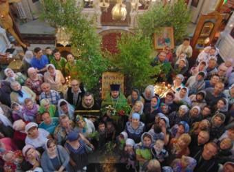 Сошествие Святого Духа на апостолов. День Святой Троицы. Пятидесятница