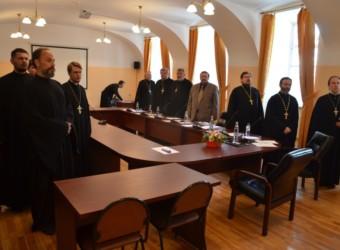 Настоятель храма принял участие в работе Комиссии по приему итогового междисциплинарного экзамена в Калужской духовной семинарии