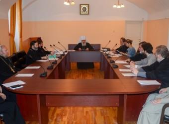 Настоятель храма принял участие в итоговом заседании Ученого совета Калужской духовной семинарии