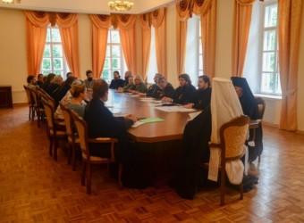 Протоиерей Сергий Третьяков выступил на собрании профессорско-преподавательской корпорации Калужской духовной семинарии