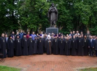 Проректор Калужской духовной семинарии по учебной работе принял участие в торжественном выпускном акте Калужской духовной семинарии
