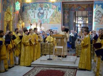 Настоятель храма принял участие в торжествах по случаю 70-летия со дня рождения митрополита Калужского и Боровского Климента