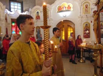 В Неделю 19-ю по Пятидесятнице прошло торжественное богослужение