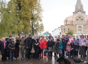 Детская Воскресная школа совершила поездку к святыням г. Серпухова