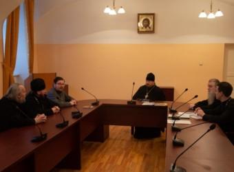 Настоятель храма принял участие в работе Комиссии по рукоположению в священный сан