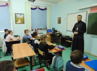 Духовенство храма продолжает просветительскую работу в средней школе № 31 г. Калуги