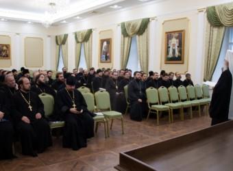 Настоятель и клирик храма приняли участие в последнем в уходящем 2019 году собрании Калужского благочиния