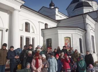 Воспитанники Воскресной школы посетили монастырь в честь Калужской иконы Божией Матери