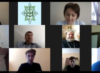 Настоятель храма принял участие в работе Экзаменационной комиссии по приему Итогового междисциплинарного экзамена Калужской духовной семинарии