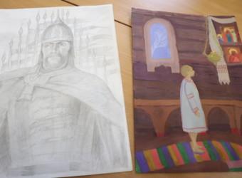 Учащиеся и педагоги воскресной школы приняли участие во Всероссийском конкурсе иллюстрированных детских рассказов «Наследие святого благоверного князя Александра Невского»