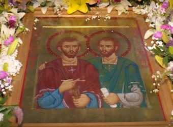 ГТРК «Россия-Калуга» подготовила сюжет о Престольном празднике храма