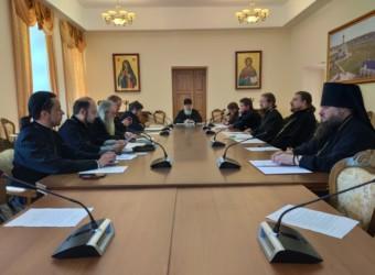 Настоятель храма принял участие в заседании Епархиального совета